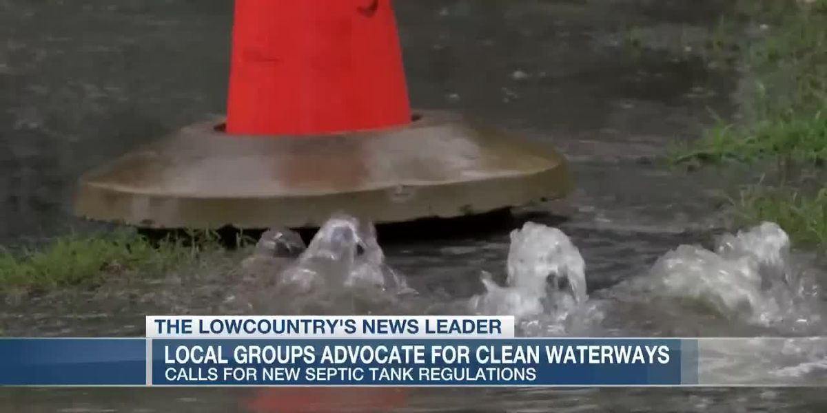 VIDEO: Lowcountry groups team up to demand new septic tank revisions