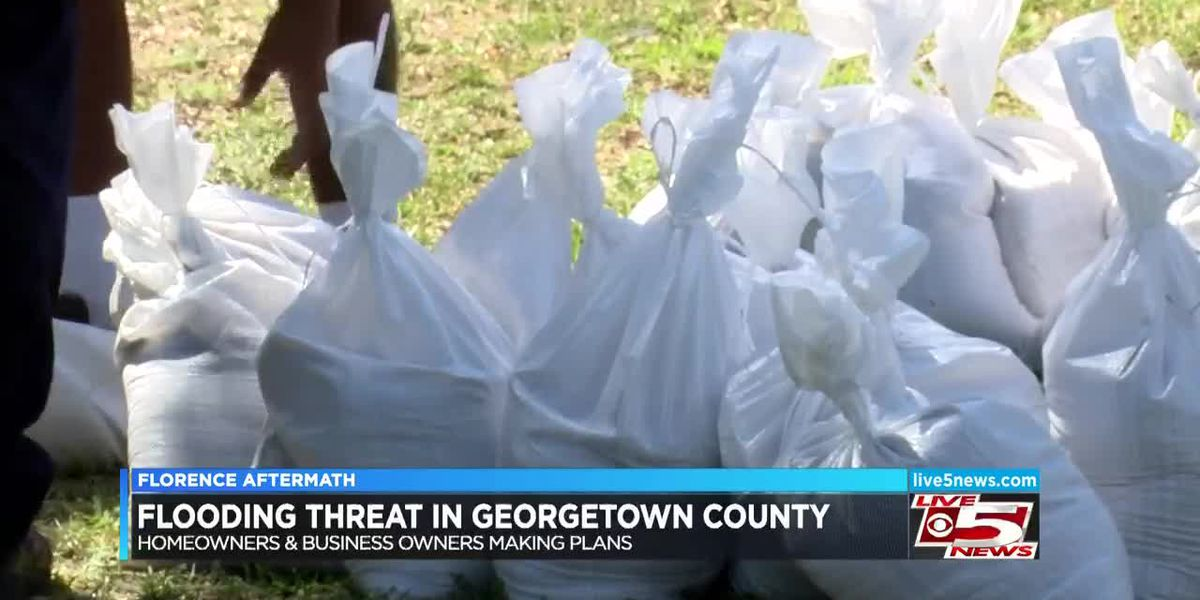 VIDEO: Potential for flooding causes fear, angst for Georgetown residents