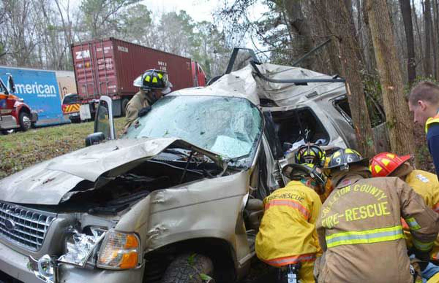 Ga  woman killed following highway accident in Colleton Co