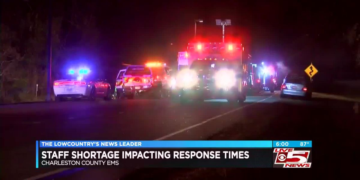 Internal memo reveals staffing shortages, slower response times for Charleston Co. EMS
