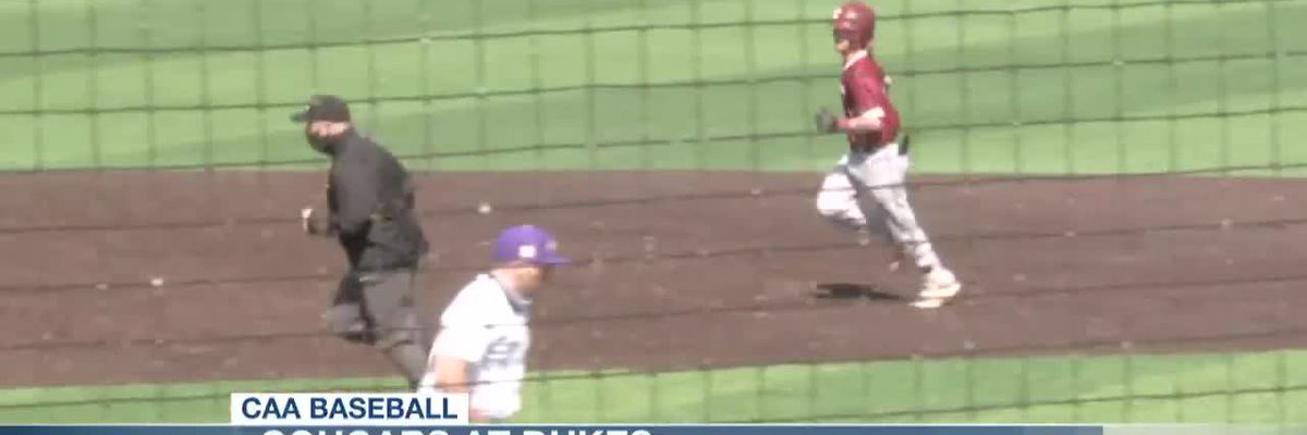 VIDEO: Steffy, Campbell Power Cougars to 3-1 Win Over Dukes