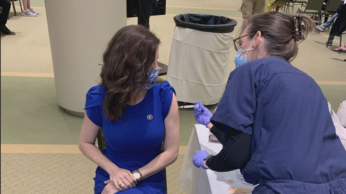 Rep. Nancy Mace gets COVID-19 vaccine months after 'bad bout' of coronavirus last summer