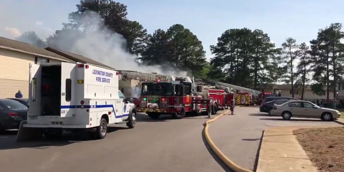 No injuries reported in West Columbia apartment fire on Saturday