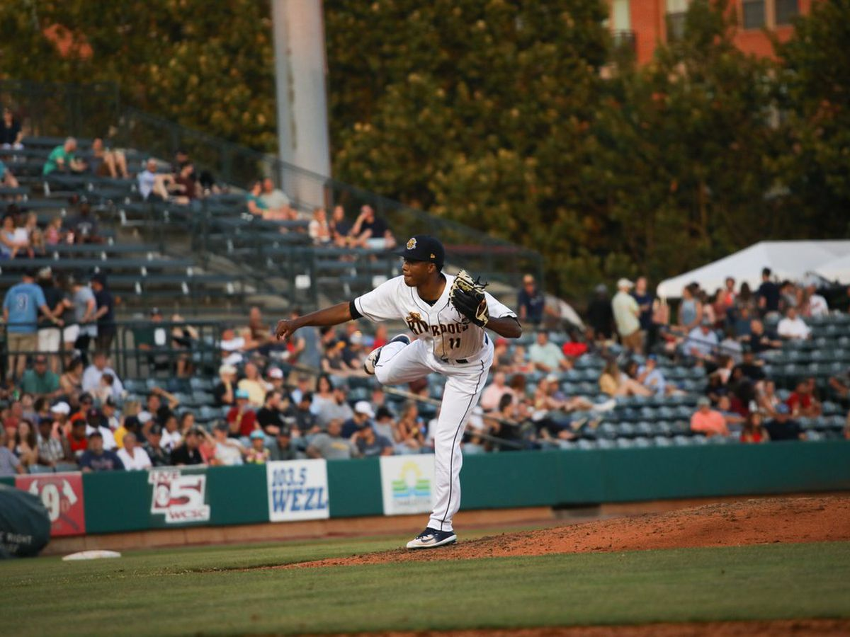 Drive Stifle Charleston Hitters, Dogs Fall in Game Three
