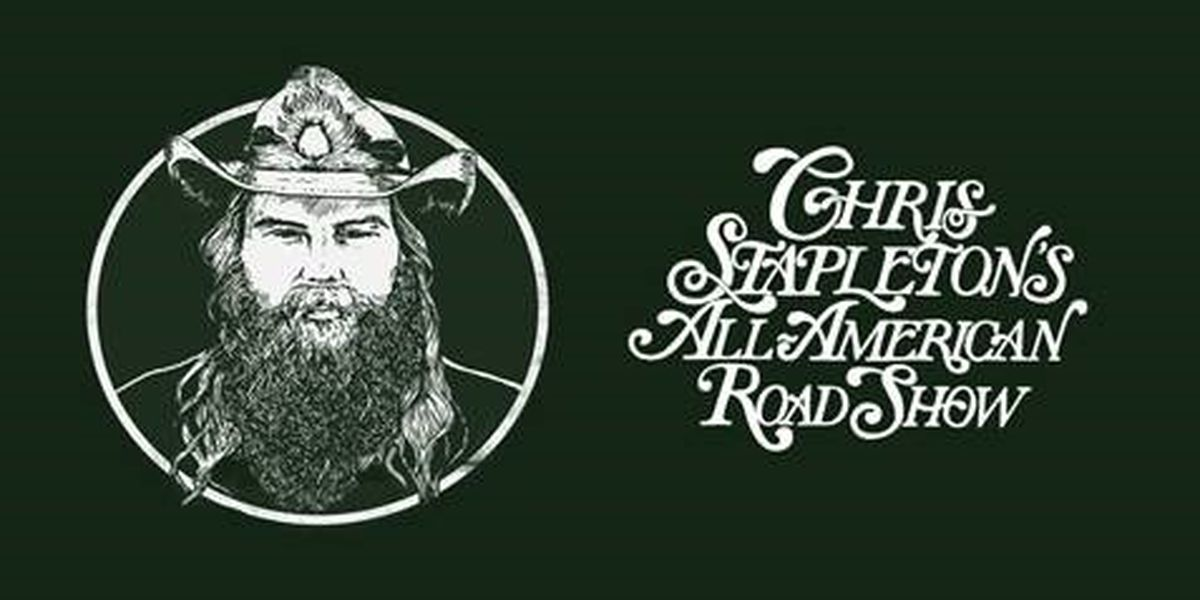 Country star Chris Stapleton bringing 'All-American Road Show' to Charleston
