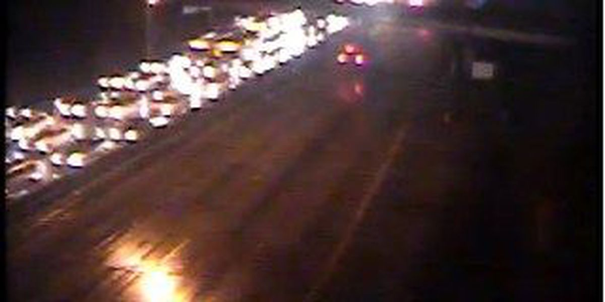 I-26 EB traffic near Aviation Ave. moving again following wreck