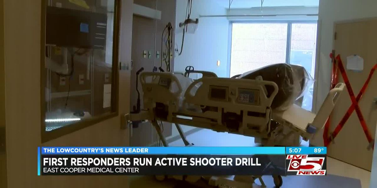 VIDEO: First responders conduct active shooter drill at Mt. Pleasant hospital