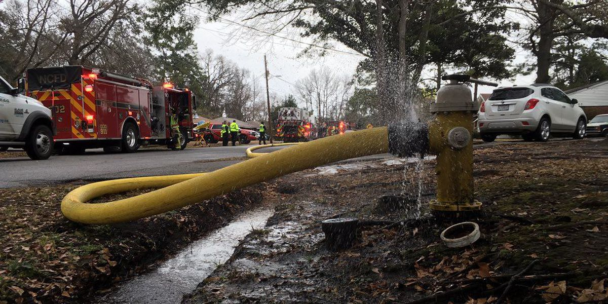 Firefighters blame faulty wiring for N. Charleston house fire