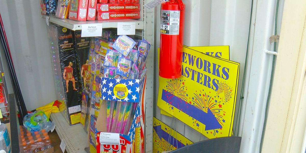 COVID-19 helps spark booming sales in consumer fireworks