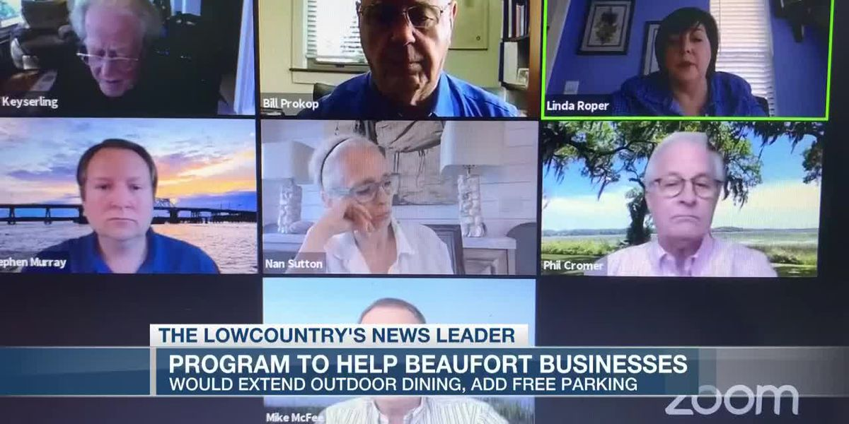 VIDEO: Beaufort City Council considers efforts to help businesses impacted by COVID-19