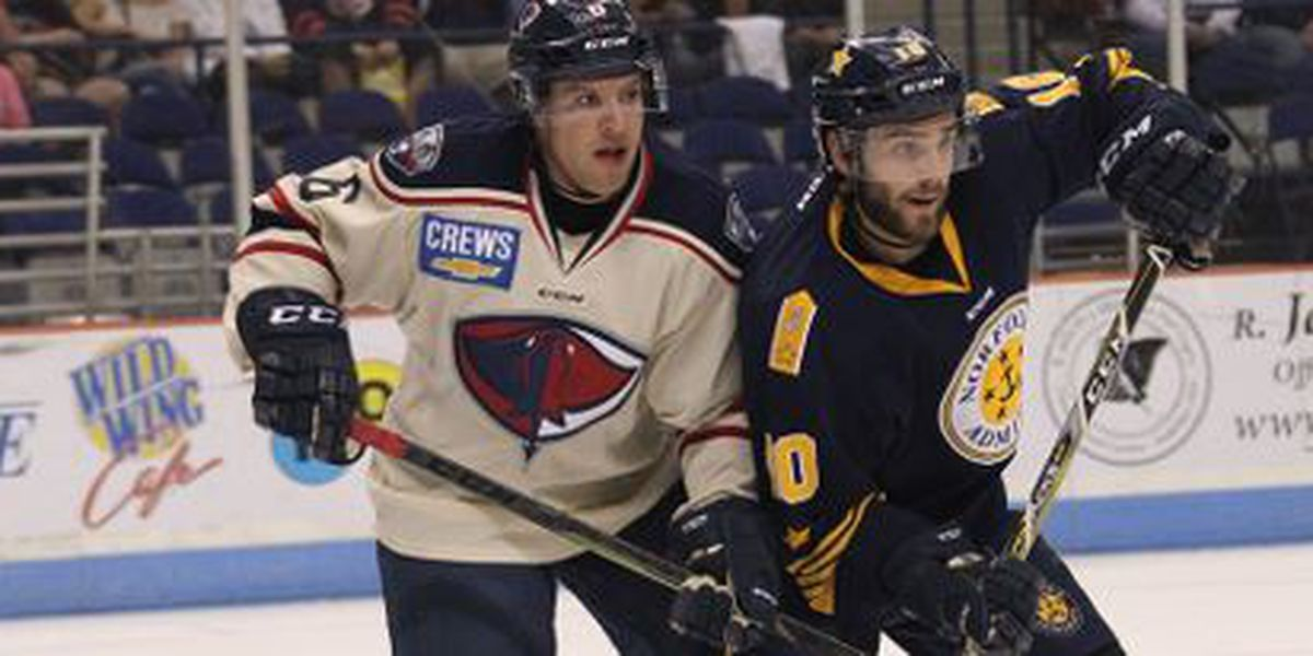 52 Shots Not Enough For Stingrays In 6-3 Loss To Norfolk