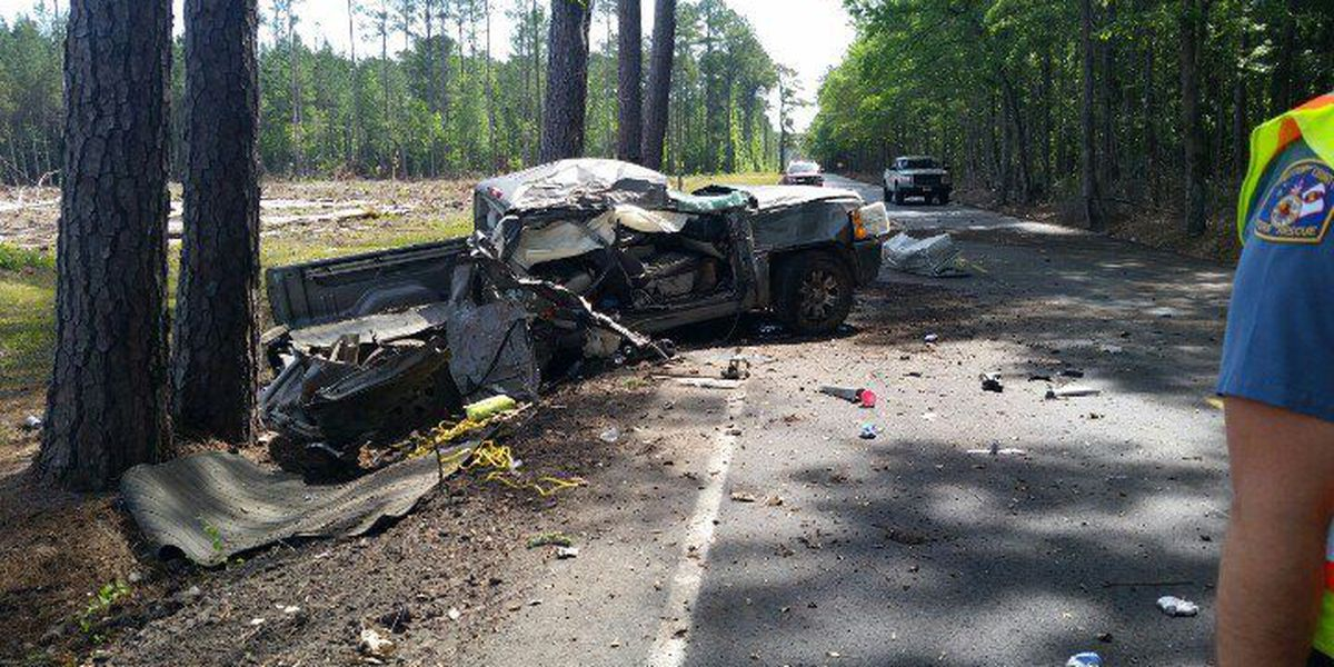 Crash in Colleton Co. injures 2, closed road after nail spill