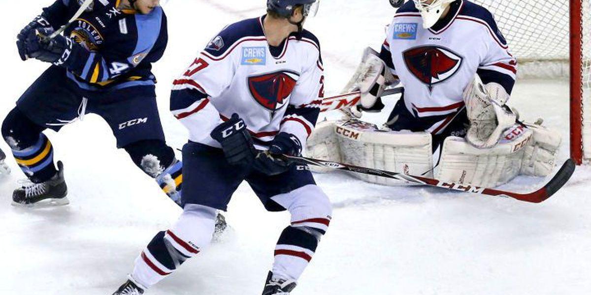 Stingrays Jeff Jakaitis Named ECHL Goaltender of the Week