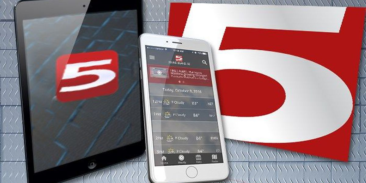 Download the Live 5 News, First Alert Weather apps