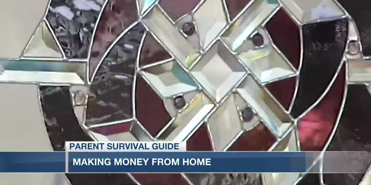VIDEO: Parent Survival Guide: Making money from home