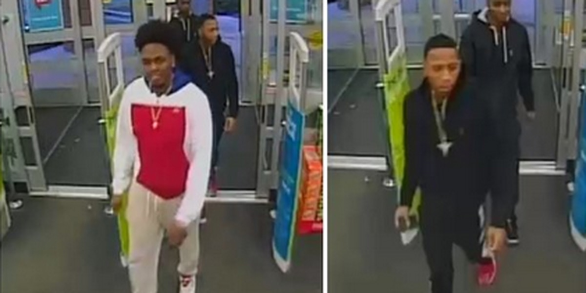 Charleston PD looking for public's help in identifying West Ashley Walmart larceny suspects