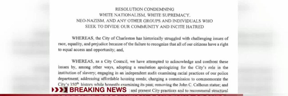 VIDEO: City approves resolution condemning groups that divide, incite hatred
