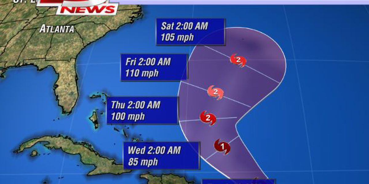 Gonzalo strengthening, likely to become hurricane by Tuesday