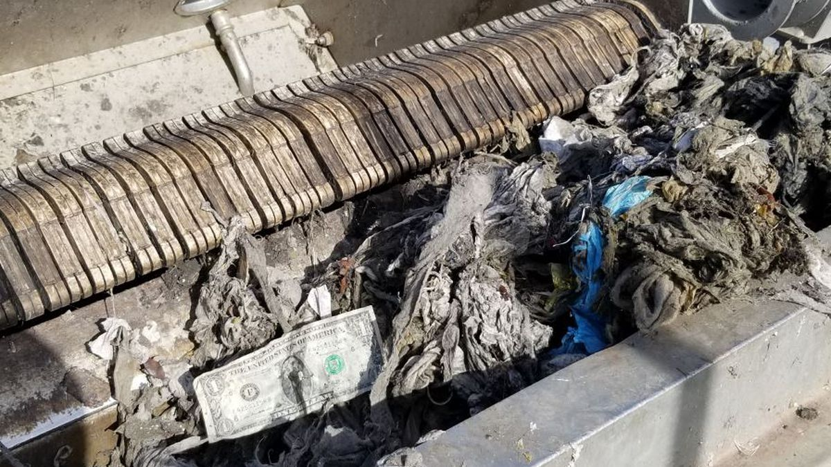 You Paid For It: Sewage divers clearing out wipes