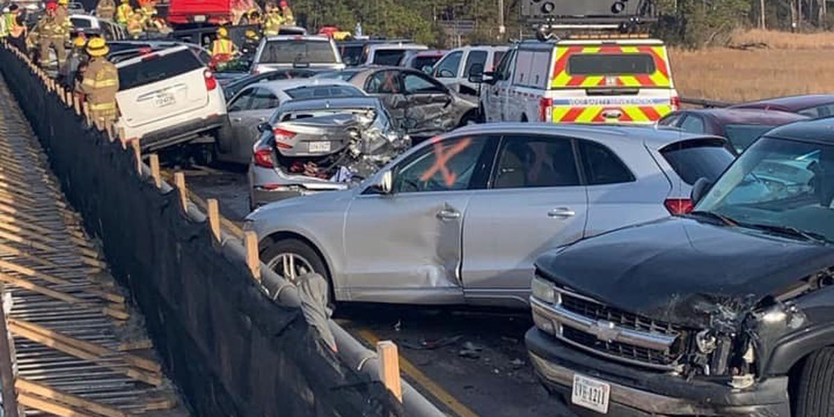 More than 50 hurt in chain-reaction crash involving 69 vehicles on I-64 in Virginia
