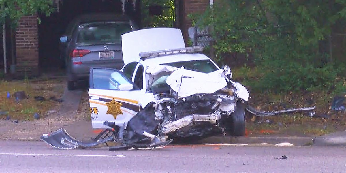 Highway Patrol: Motorist dies from injuries in crash involving deputy's patrol car in W. Ashley