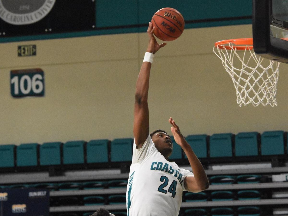 Coastal Carolina opens Season with 117-66 Win over NC Wesleyan