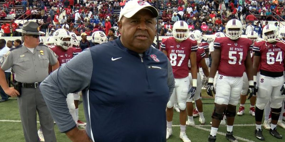 Buddy Pough gets 1-year extension at South Carolina State