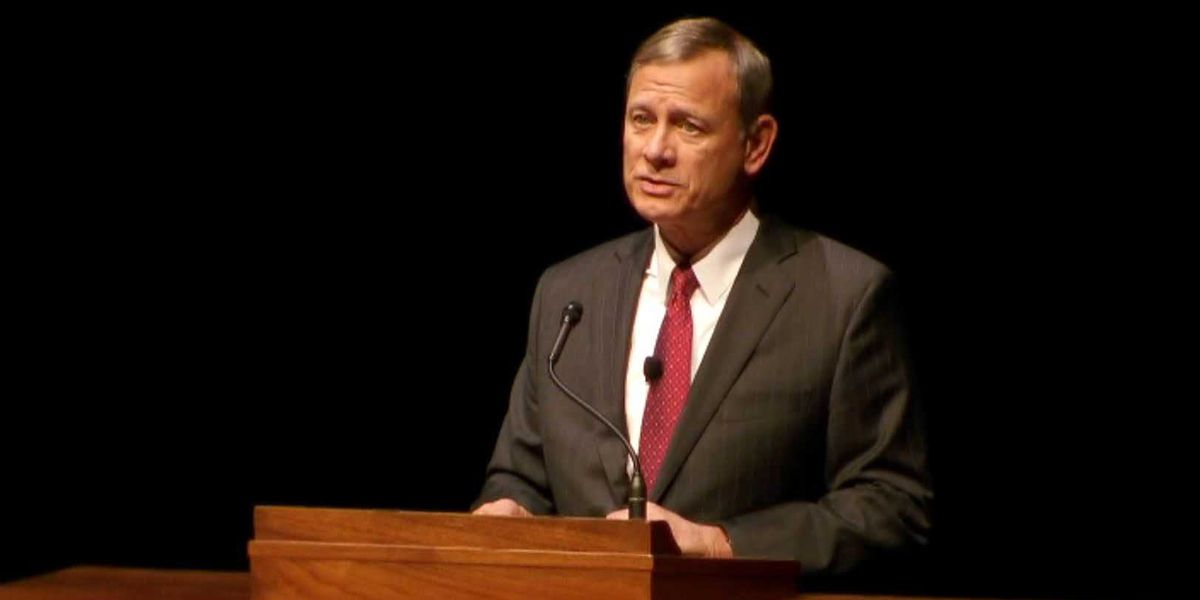 Chief Justice John Roberts responds after Trump insults judge