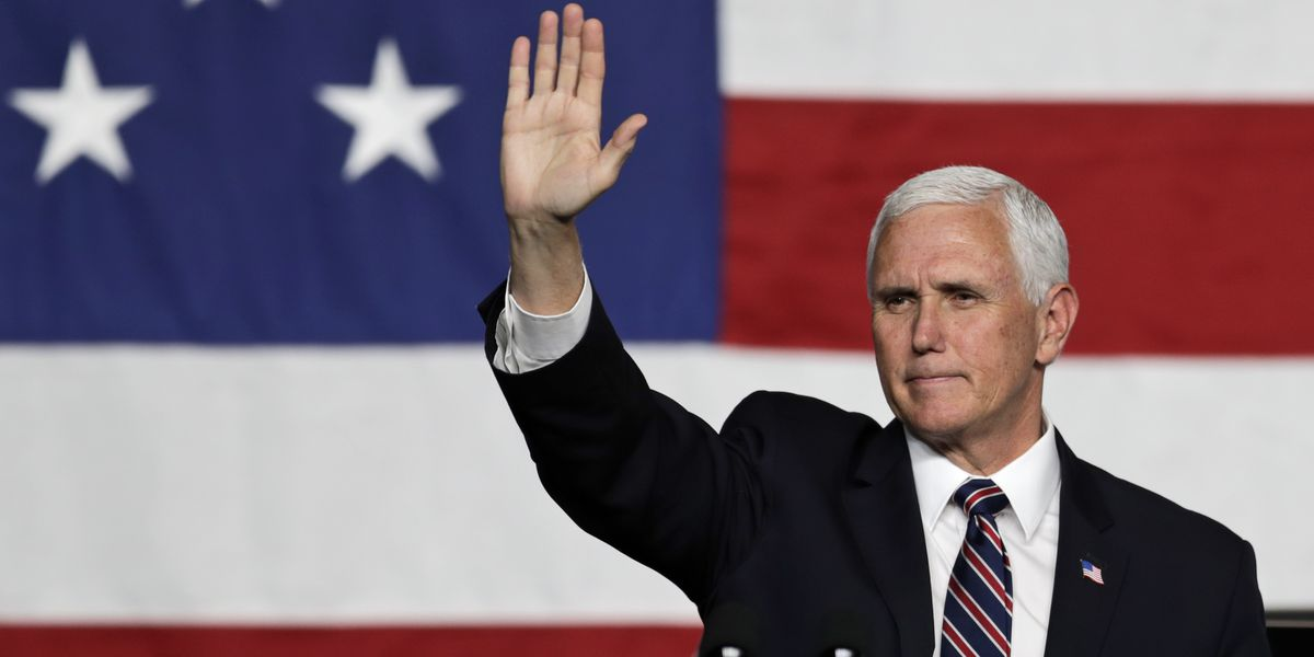 Pence says young people are contributing to spike in COVID cases