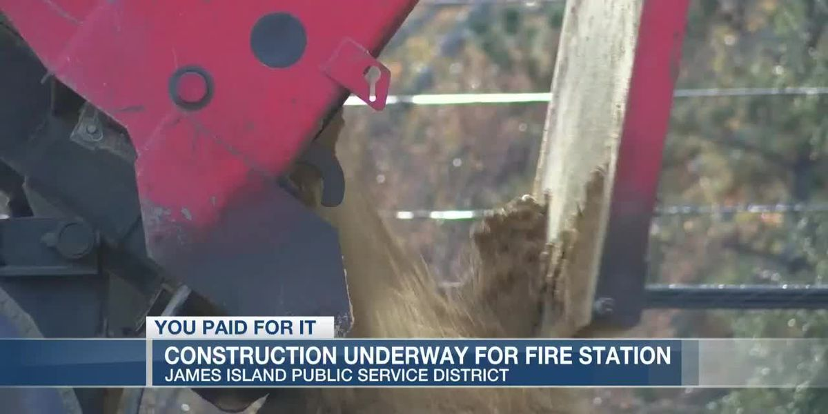 VIDEO: You Paid For It: Replacing James Island's oldest fire station