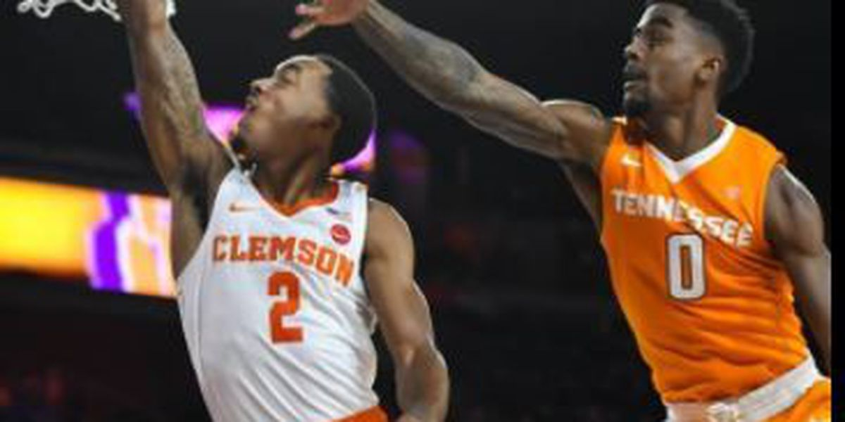 Clemson can't complete comeback against Tennessee in exhibition play