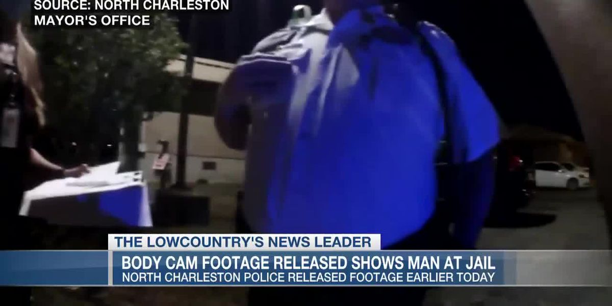 VIDEO: North Charleston releases body cam footage of man's arrest hours before his death in jail