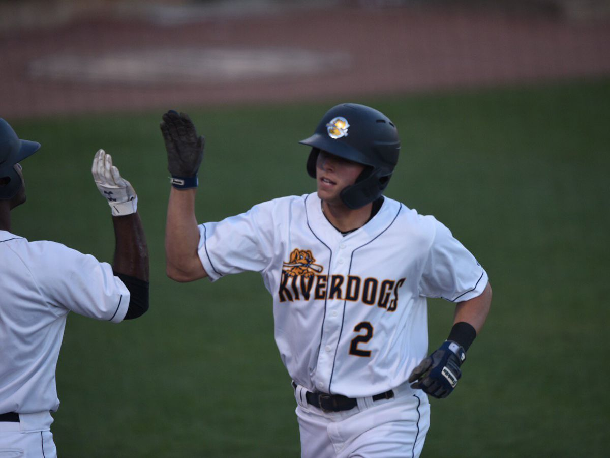 Lockridge Bails Out RiverDogs for Series Finale Win