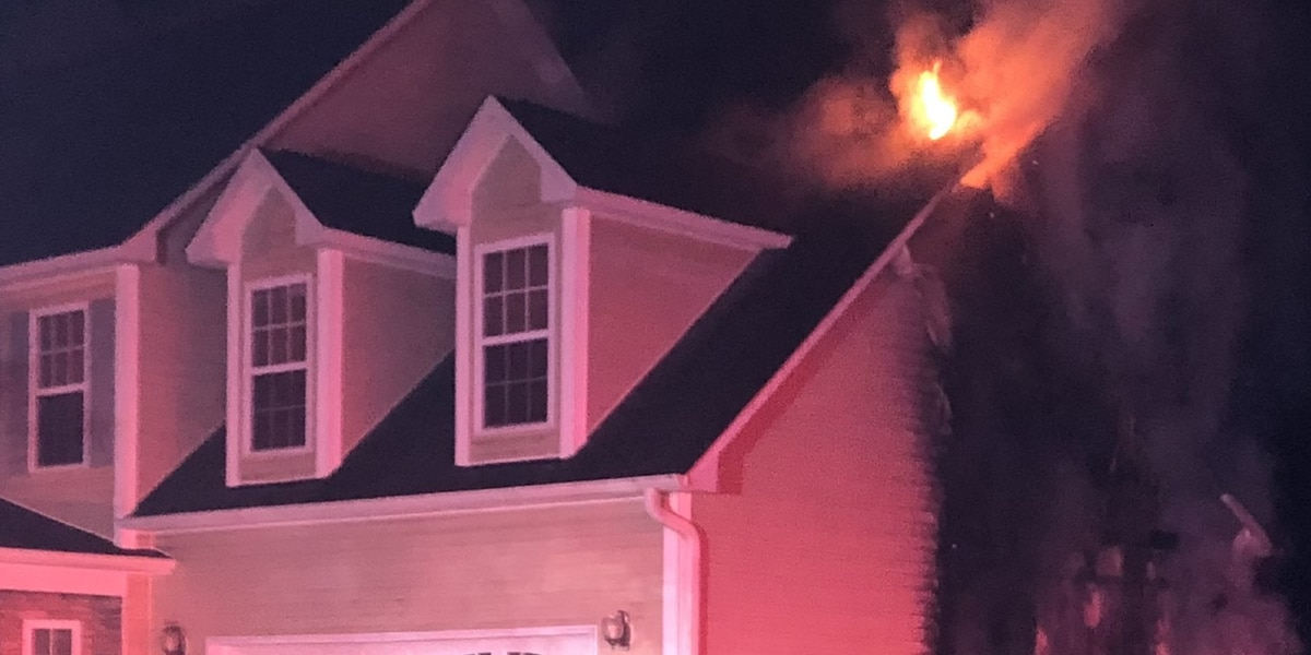 6 people, 2 dogs displaced after fire in Conway