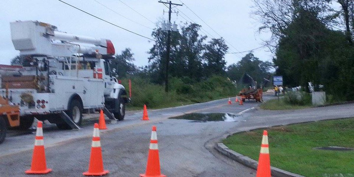 SCE&G: Power restored to neighborhoods affected by Friday tornado