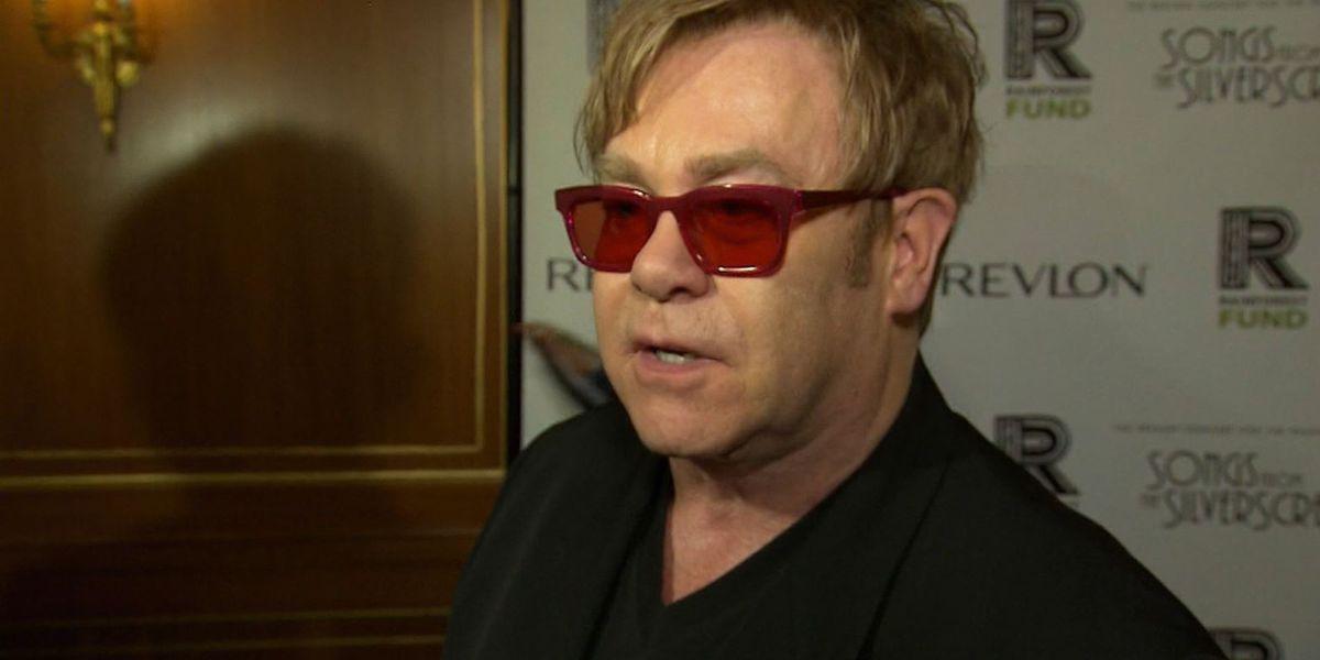 Elton John launches $1 million coronavirus emergency fund to help people with HIV/AIDS