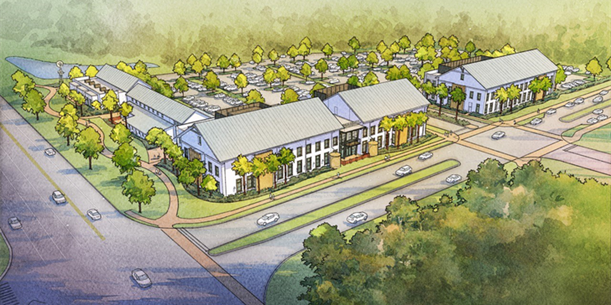 Crews break ground on medical park in Summerville