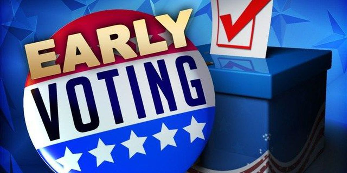 Early voting still an option, but deadlines approaching
