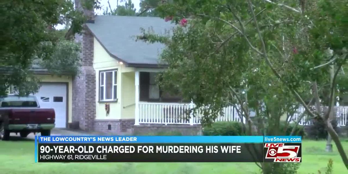 VIDEO: 90 year old charged for murdering his wife