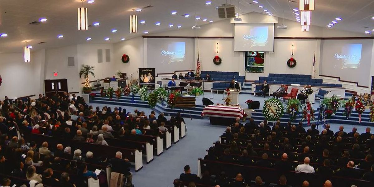 Lumberton police office killed in line of duty laid to rest