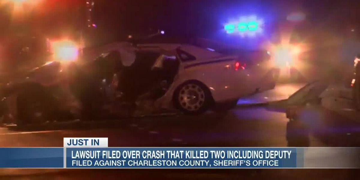 Family files lawsuit against Charleston Co. Sheriff's Office in crash that killed motorist, deputy