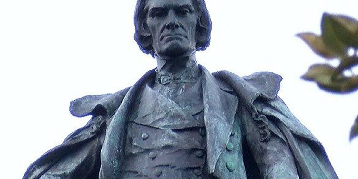 Charleston History Commission approves language for John C. Calhoun plaque