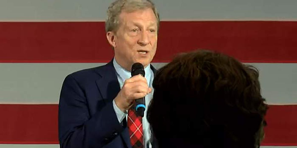 Steyer drops out of presidential race after third-place S.C. primary finish