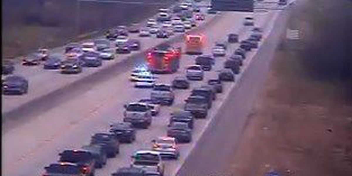 I-26 EB traffic moving again at Montague after crews clear disabled vehicle