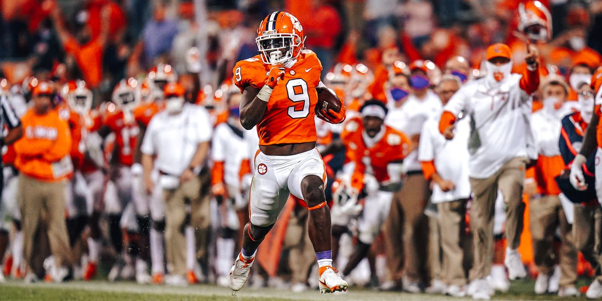 Lawrence's 3 TDs lead No. 1 Clemson to 41-23 win vs Virginia