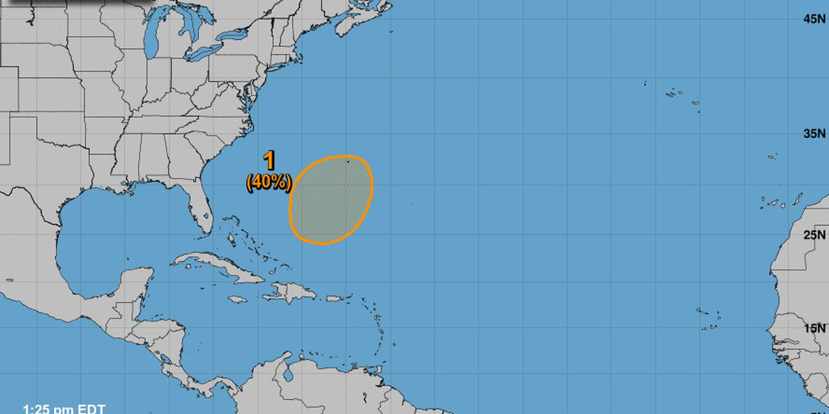 Andrea, first named storm of the 2019 season, forms in the Atlantic