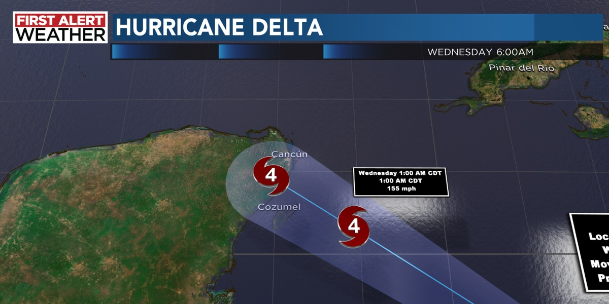 Category 4 Hurricane Delta is even stronger