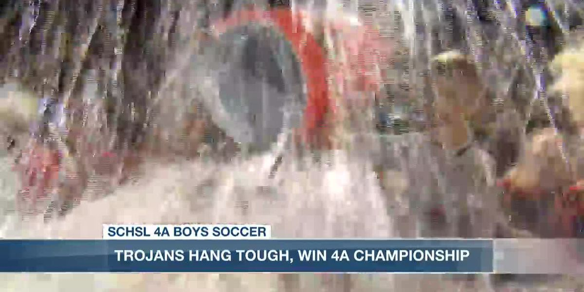 VIDEO: James Island blanks Eastside to win 4A title