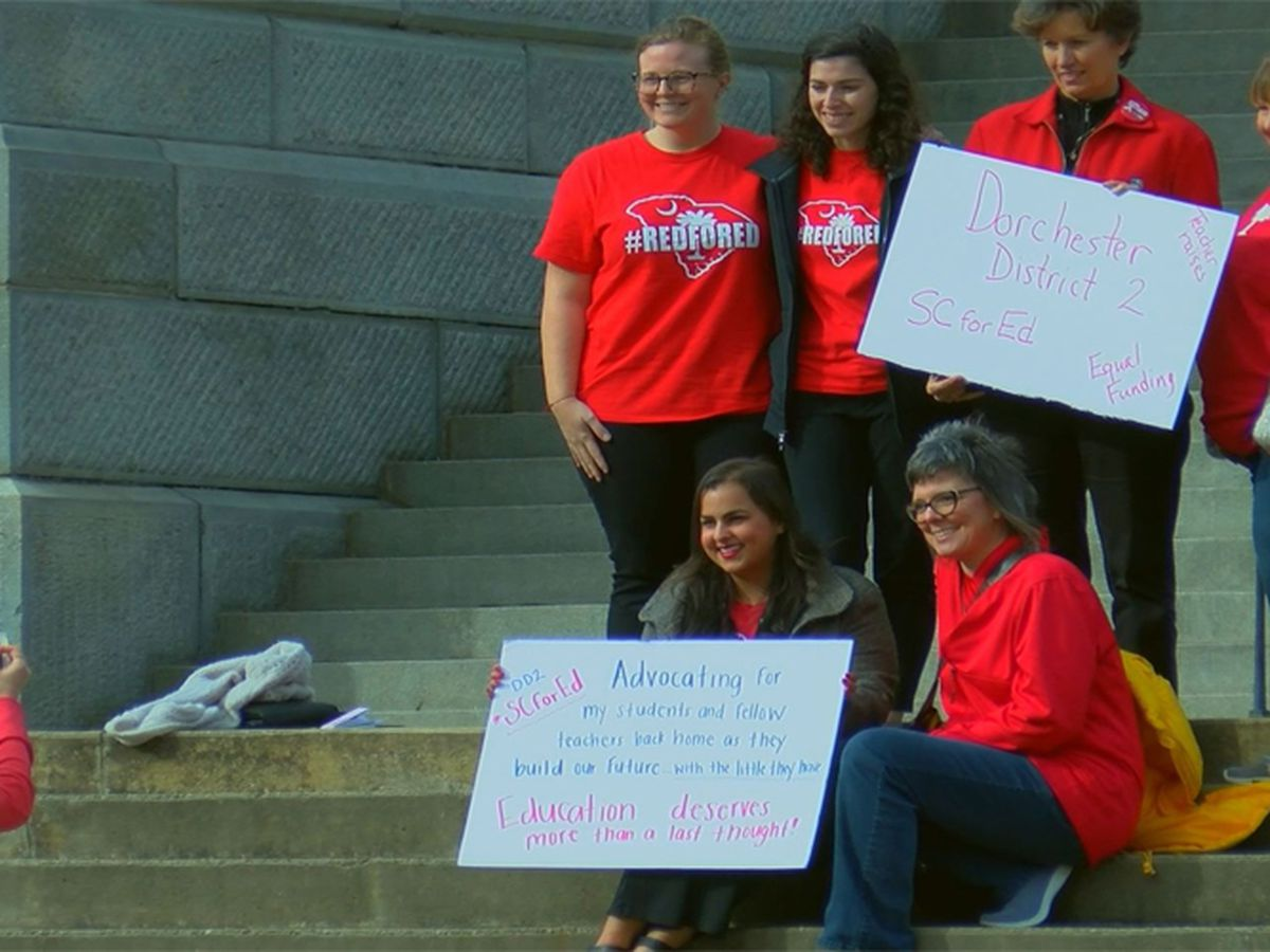 Lowcountry teachers advocate for education reform at SC Statehouse