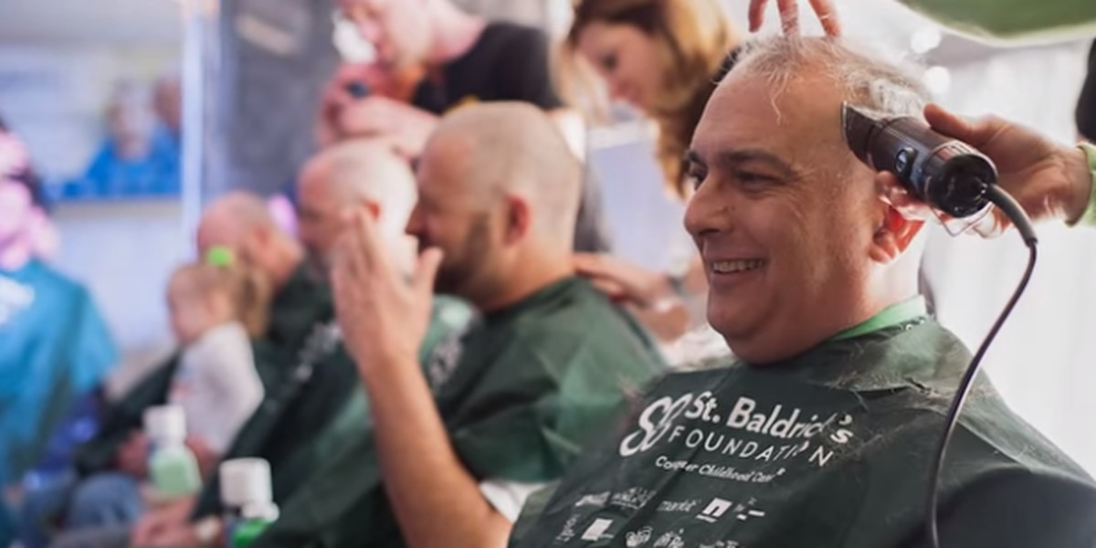 Lowcountry residents participate in going bald for cancer research